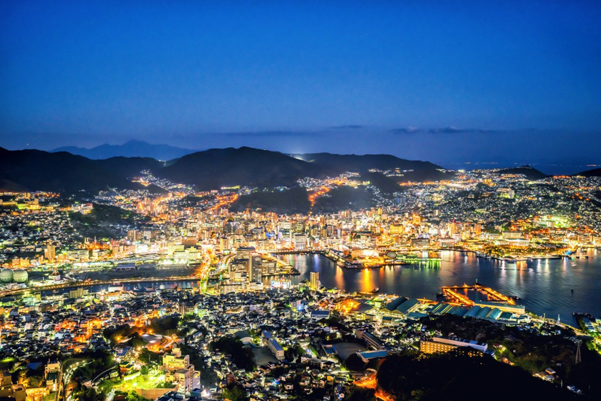 Mount Inasa as The Leading Night View Spot of Nagasaki
