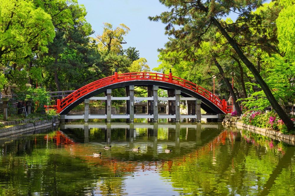 Purify Yourself Over the Sumiyoshi Taisha Bridge