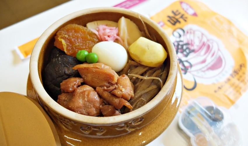 「峠の釜めし」數十年來所使用的食材與味道都沒有改變