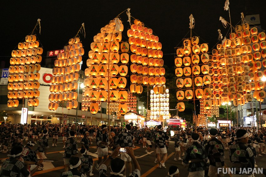 What are the Highlights of Akita Kanto Festival?