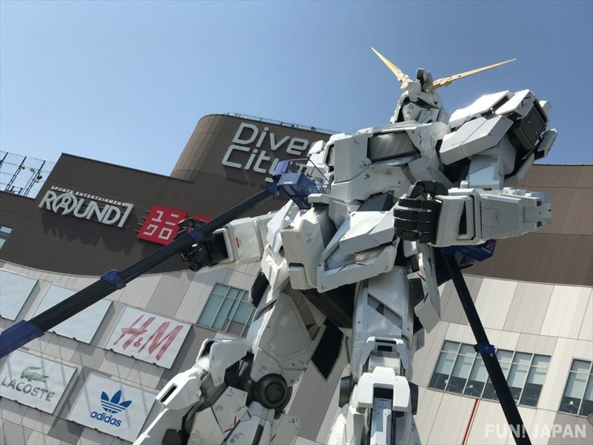 DiverCity, a shopping mall with a multitude of Odaiba experiences