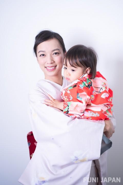 Baby Kimono Worn at 3 Big Japanese Traditional Occasions