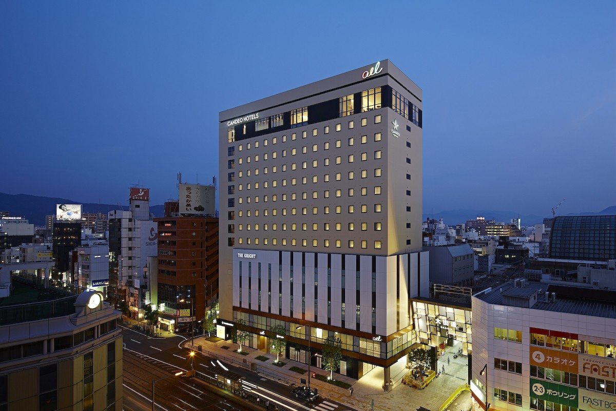 Three recommended Ehime hotels for those who traveling in Matsuyama in Japan