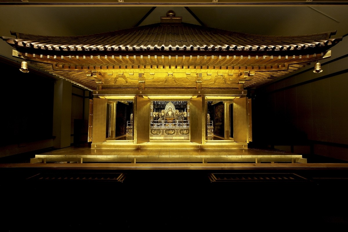 What are the Highlights of Chuson-ji Temple in Iwate Prefecture?