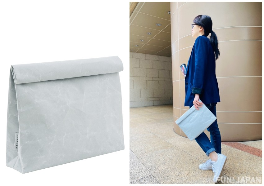 Made in Japan clutch bag wide