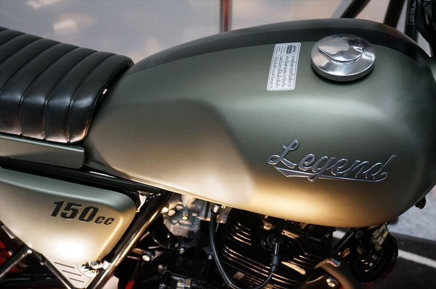 Thai motorcycle manufacturer GPX has been launched in Japan