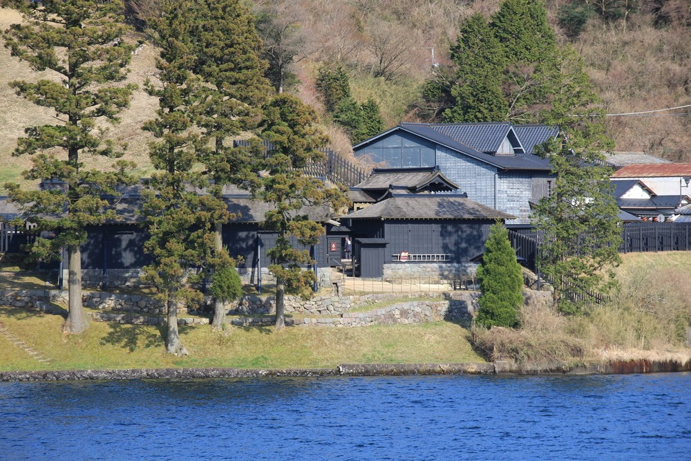 A Timeslip to the Past in Hakone Sekisho Checkpoint