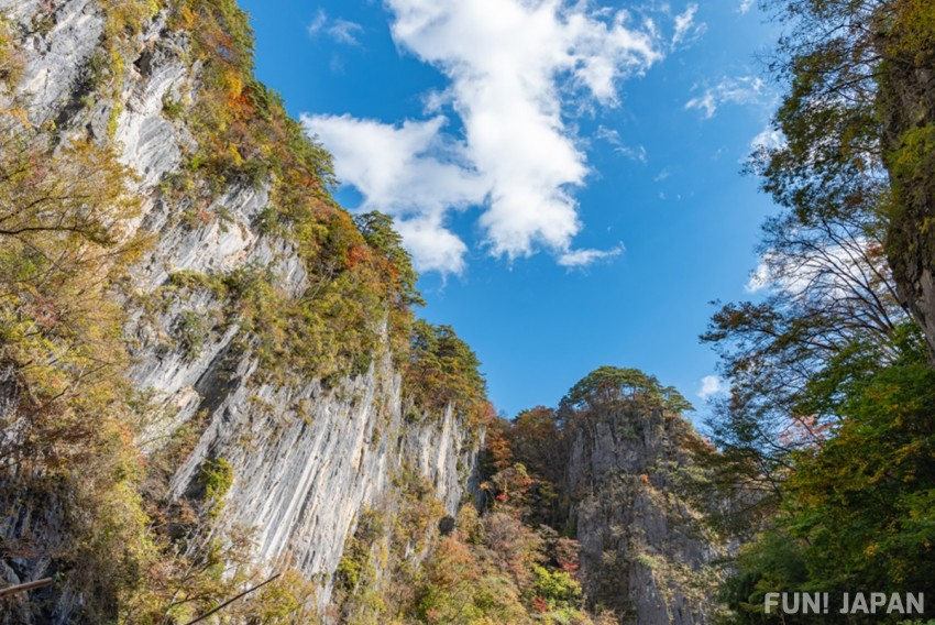 Enjoy a Exciting Boat Ride in Iwate Prefecture's Geibikei Gorge!
