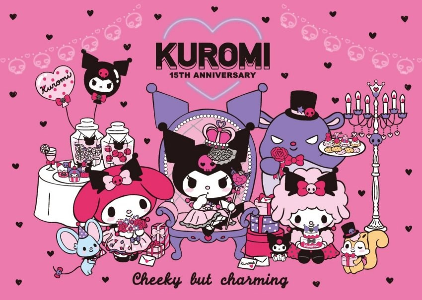 Kuromi's 15th Anniversary! Check Out Kuromi's Time Limited Cafe and New Collaboration Goods!