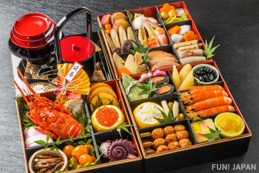 New Year dishes in Japan: Osechi-Ryouri