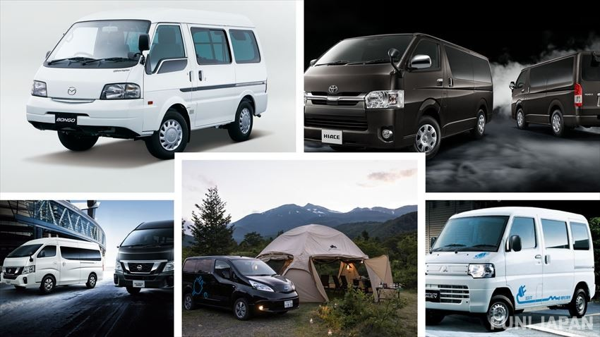 Definitely durable!! 5 World-Renowned Japanese Combi Vans