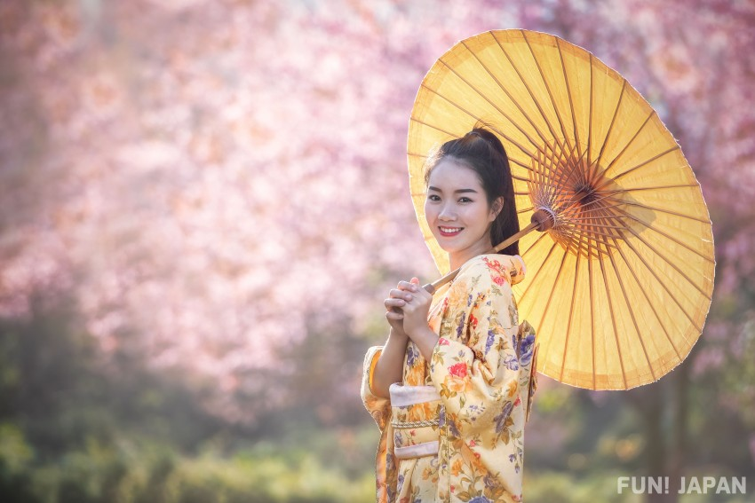 Yellow Kimono Which Has The Meaning of Colour of Light